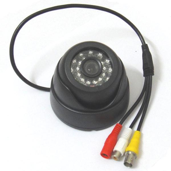 1/3 800TVL Sony CCD IR Color Security CCTV Mic Camera Dome, 3.6mm 1080P 3mp Lens Audio wide angle Cam