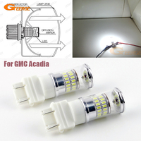 For GMC Acadia 2007 2008 2009 2010 2011 2012 Daytime Lights Excellent Xenon White Reflector 3157
