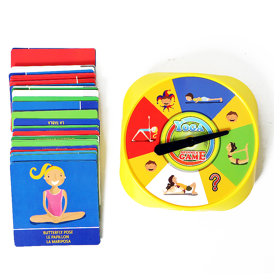 54Pcs Funny Family Yoga Game Of Flexibility Balance For Children Visual Perception Educational Gift Yoga Pose Cards Toys image