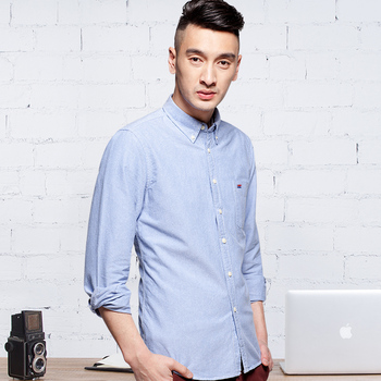 Langmeng New Arrival 60% Cotton Mens Oxf...