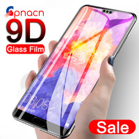 9D Full Cover Tempered Glass on the For Huawei P20 Pro P10 P9 Lite Plus Screen Protector Protective Glass For P Smart 2019 Film Phone Screen Protectors