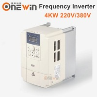 4KW frequency inverter 220V 380v input 3PH output 3PH VFD inverter for cnc spindle motor