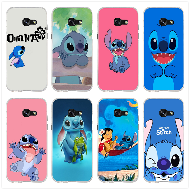 Phone Pouch Cute Cartoon Stich Coque Soft Tpu Silicone Phone Case Cover For Samsung Galaxy A3 2016 A5 2017 A7 J3 J5 2015 J7 2017 Cellphones & Telecommunications