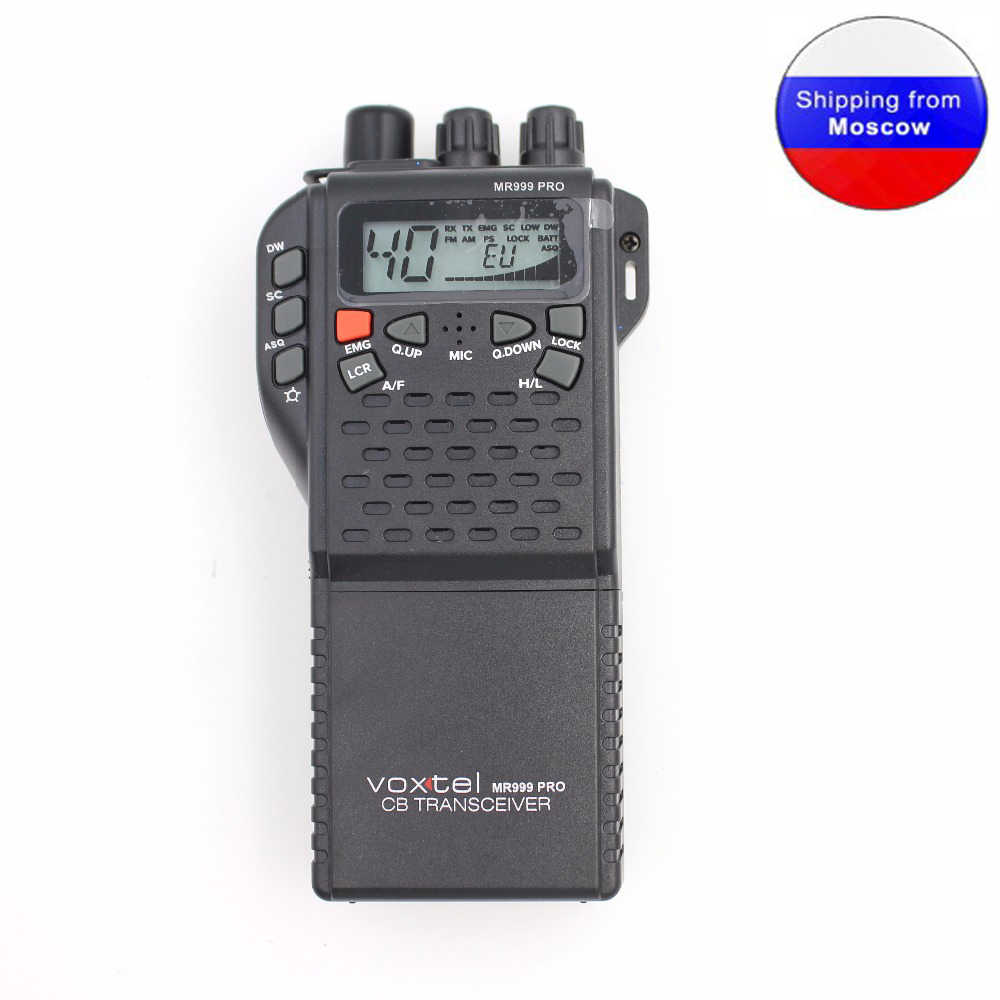 CB Radio 27MHz MR999 pro CB-270 Walkie Talkie with LCD diaplay 40 Channel  AM FM Radio CB270 26 965 - 27 860MHz