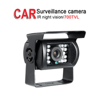 700TVL Bus Backup HD Camera.Outdoor Waterproof IR Night Vision for Truck Car Vans Reverse Parking Assistance Security,DC12 24V