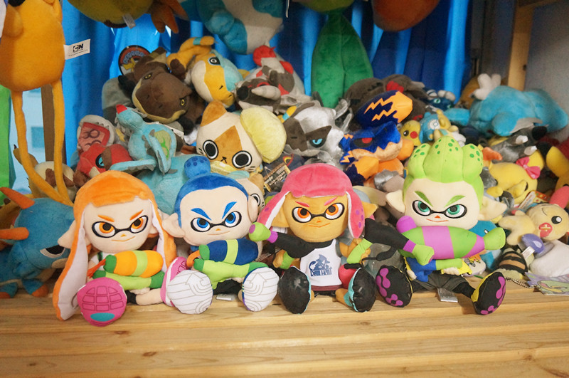 Authentic Splatoon 2 judge-Kun Girl Inkling Boy Inkling plush toy new