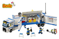 Bela 10420 Urban City Police Police Commant Unit Building Block Toys Compatible with Legoings