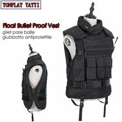 Drijvende Aramid Bullet Proof Militaire Tactische Vest nij-iiia.44 Bulletproof Waterdicht En Vlamvertragende 600D Oxford Leger Ves