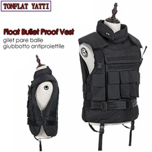 Floating Aramid Bullet Proof Military Tactical Vest nij-iiia.44 Bulletproof Waterproof And Flame Retardant 600D Oxford Army Ves aa shield bullet proof soft panel body armor inserts plate uhmwpe core self defense supply ballistic nij lvl iiia 3a 10x12 pair