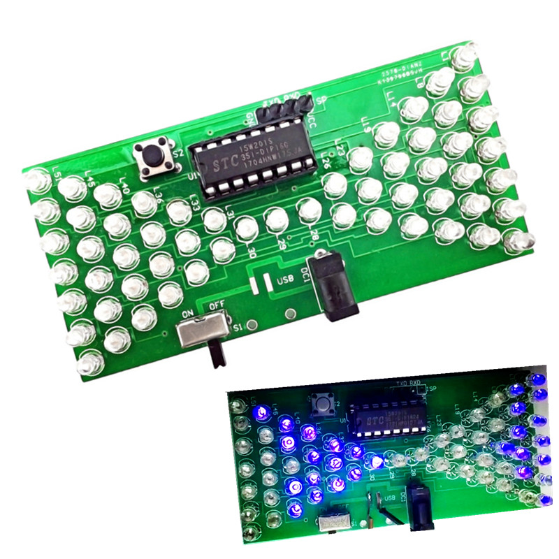 top 10 most popular electronics testing kit ideas and get freeelectronic hourglass diy kit funny electric production kit with led double layer pcb board for skills test teaching 5v