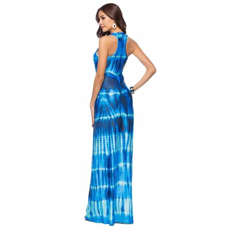 68c0572a0 vestido para mujeres vestidos largos de verano vestido playa tallas grandes  mujer verano 2018 vestido boho chic hippie ropa mujer talla grande ...