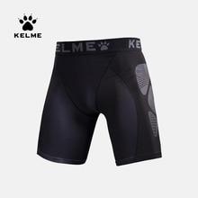 Kelme Gym Clothing Compression Tight Men Shorts