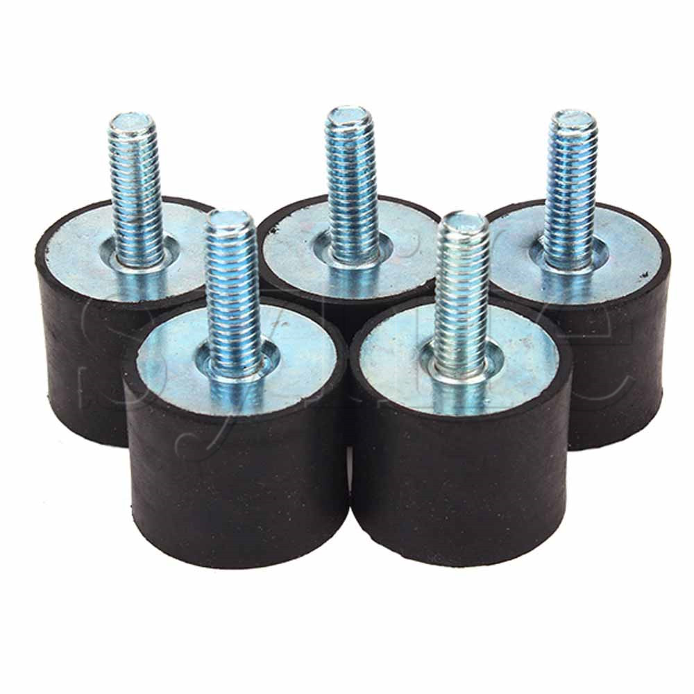 Brilliant 5pcs Vdm6 25x20mm Malethread Rubber Anti Vibration Damping Down Noise Good Taste Power Tool Accessories