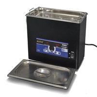 AOYUE9080 Digital Display 4L Ultrasonic Cleaner Adjustable Temperature And Time Cleaning PCB Panel Board 600W