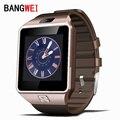 2016 BANGWEI Смарт Часы Часы С Сим Слот Для Карт Нажмите Сообщение Подключение Bluetooth Android Телефон Лучше, Чем Smartwatch DZ09