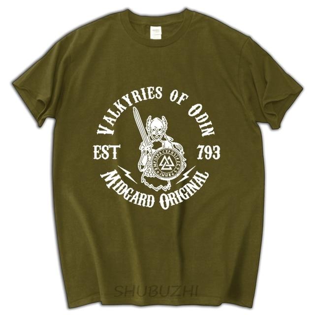 t shirt uomo divertenti  Valkyries Di Odino Vichinghi Uomo T Shirt uomo divertente regalo di ...