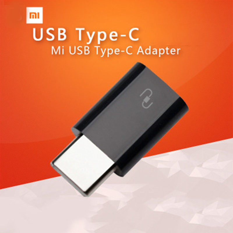 Original Xiaomi Charger Adapter USB 3.1 Type-C Male to Micro USB Female USB-C Cable Adapter Type C Converter