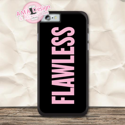 Beyonce Flawless Yonce Protective Case For iPhone X 8 7 6 6s Plus 5 5s SE 5c 4 4s For iPod Touch