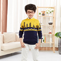 Baby Boys Luxury Brand Sweater 2016 New Cartoon Children's Clothing Fashion Kids Wool Sweaters Cotton Boys Sweater Baby Cardigan
