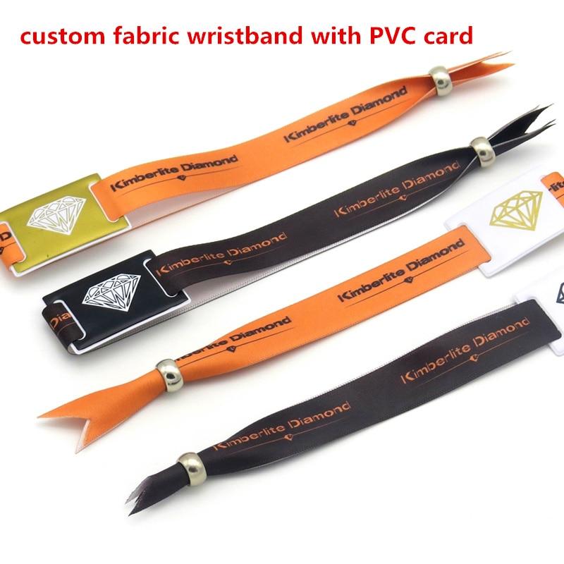 Anti-Remove Buckles RFID NFC disposable HF fabric RFID elastic custom fabric wristband