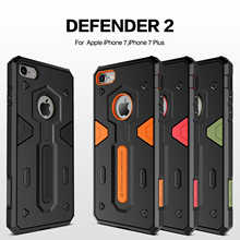 For Apple iPhone 7 Case 7 Plus Nillkin Defender Impact Hybrid Armor Hard Protect Cover Strong For iPhone 7 Phone Cases