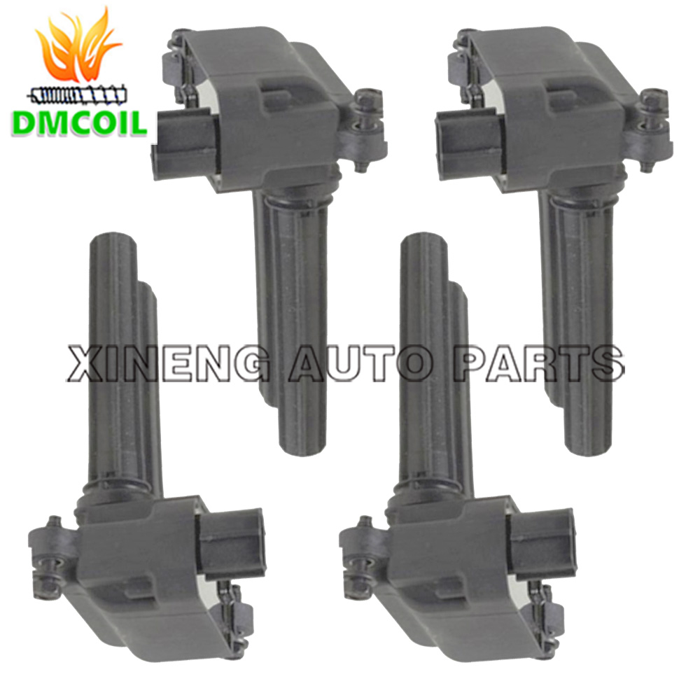 Dodge Charger Magnum Durango Jeep Commander Grand Cherokee: 4 PCS FOR CHRYSLER IGNITION COIL 300C DODGE CHARGER