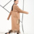 [Soonyour] 2017 primavera wwomen casacos longo casaco de cor sólida moda feminina borlas estilo solto casaco de lã ev084