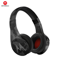 Motorola Pulse Escape+ Bluetooth Headphone Waterproof Dust Resistant Noise Isolation Foldable Over Ear Running Sport Headset