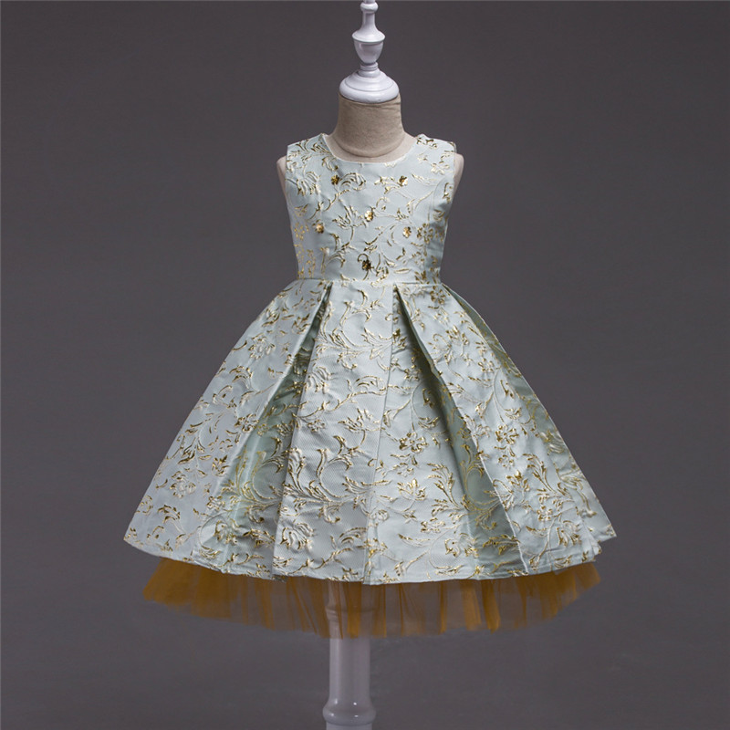 Girls Dresses For Evening Party And Wedding Teenager Children Clothing 12 Years High Quality Mesh Princess Pageant Tutu Dress