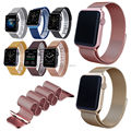 24MM Milanese Loop Strap Stainless Steel Magnetic Watch Band for Apple Watch 42/38 mm