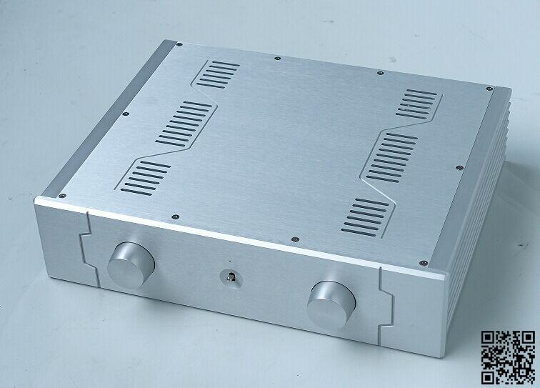 Aluminum power amplifier chassis combined chassis pre-chassis BZ4310D DYI box 430 * 340 * 105mm queenway hifi class pass xa 30 5 hi end full aluminum amplifier chassis case box 430mm 430mm 170mm 430 430 170mm