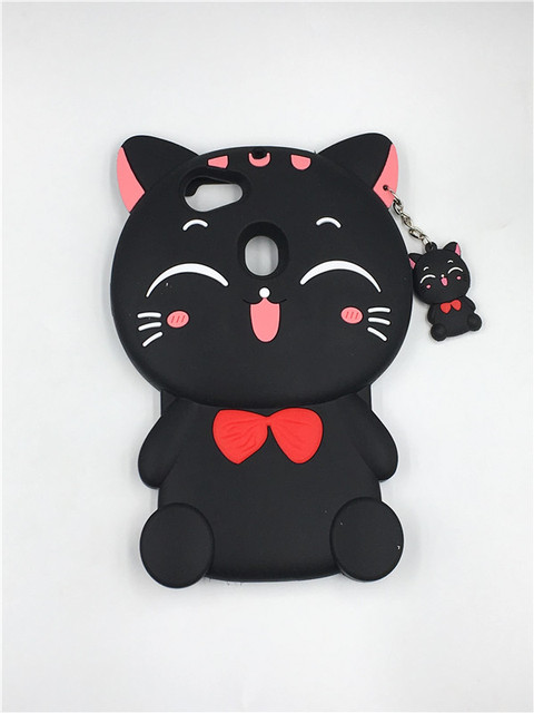 quality design dd5dd 6104b US $3.6 5% OFF|For OPPO F5 3D Cartoon Kawaii Bow Tie Cat Soft Silicone  Phone case Cover for OPPO F5 / A73 / A79 Phone case-in Fitted Cases from ...