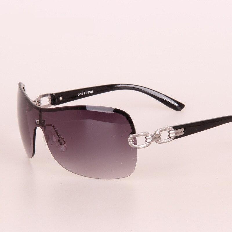 daa01e30c9 Vintage lunettes De Soleil sans monture lunettes De Soleil femmes  conception De marque avec Logo alliage chaîne or cadre dame lunettes argent  Lunette De ...