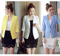 Blazer Plus Size Women Blazers And Jackets Slim Fit Suit Blazer Office Lady Blazer Mujer Coat White Blaser