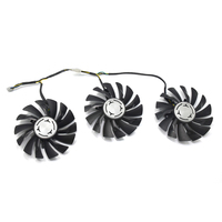 3pcs/Lot 85mm PLD09210S12HH GTX 980Ti Cooler fan DC 12V Replace For MSI Geforce GTX 980Ti LIGHTNING Geforce GTX 1080Ti 11G DUKE