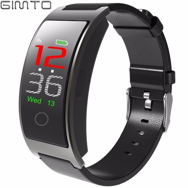 Gimto Прохладный Для мужчин Для женщин Смарт Браслет Спорт цифровые часы Bluetooth Водонепроницаемый секундомер калорий, шагомер часы для iOS и Android