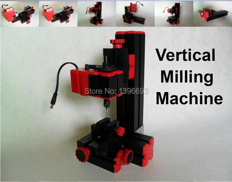 DIY Mini Micro Tokarka Obrabiarka 6 w 1 Frezowanie, wiercenie, - Zestawy narzędzi - Zdjęcie 6
