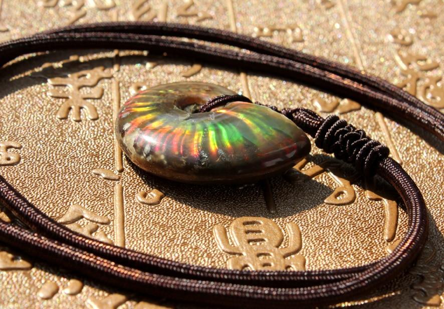 natural stone fossil pendant pendulum Spot color screw Jurassic snail pendants Green twine chakra pendule suspension vasque кроссовки pendulum ii 7548 муж 14 black olive green glow medium