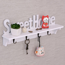 DIY Wall Hangers Wood-plastic Assembly Wall Hook Door Mounted Rack Coat Hat Clothes Key Hanger Home Storage Holder robe hooks stainless steel bathroom hook for towels key bag hat clothes coat hook wall mounted door hanger decorative hang rack