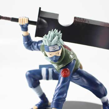 14cm Naruto Shippuuden Hatake Kakashi Shinobi World War with Sword Ver. PVC Action Figure Collectible Model Toy Figurine