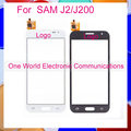 "One World High Quality 4.7"" For Samsung Galaxy  J2/J200 Touch Screen Digitizer Sensor Black White  Free shipping"