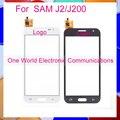 """Um mundo de alta qualidade 4.7 """"para samsung galaxy j2/j200 sensor de toque digitador da tela preto branco frete grátis"""