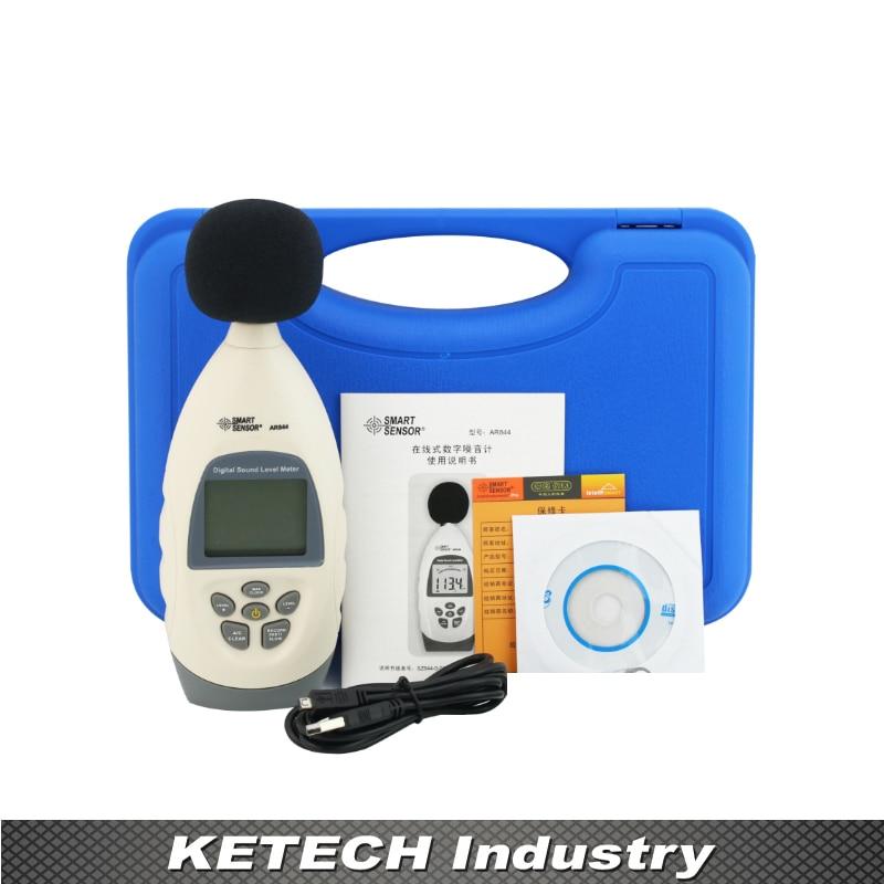 AR844 Digital Sound Level Meter Noise Level Tester Decibel Meter 30~130dB uyigao ua824 digital decibel sound level meter noise meter tester with max min hold 30dba 130dba range 9v battery included