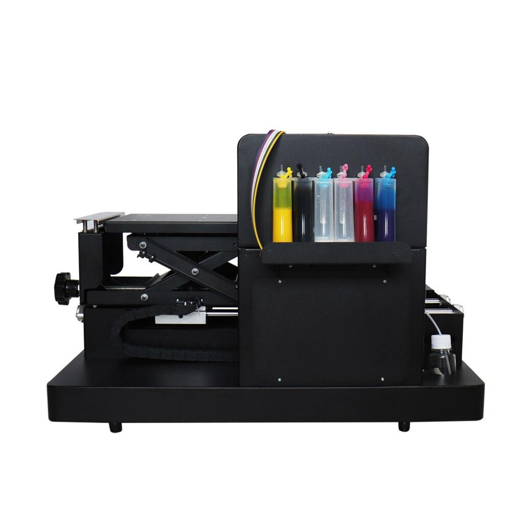 2019 sıcak satış A4 boyut flatbed yazıcı DTG Printes T-shirt - Ofis Elektroniği - Fotoğraf 3