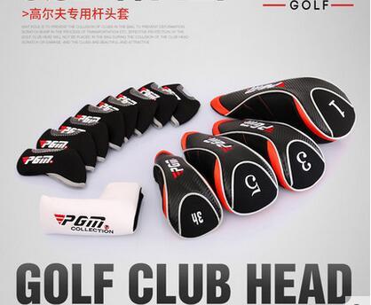 13 Pcs/set Golf Club Head Cover Golf Putter Headgear Sets Wood Iron Head Cap