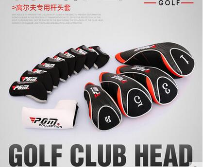 13Pcs In Golf Club Head Cover Golf Putter Headgear Sets Wood Iron Head Cap edc674b5ad5c