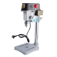 High Speed Mini Drilling Machine 340W Bench Machine Table Bit Drilling Chuck 1 10mm For Wood Metal Electrical Tools