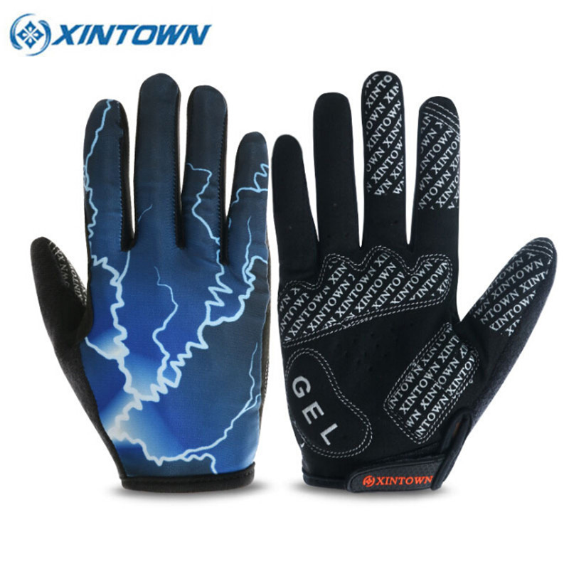 XINTOWN Full Finger Touch Screen Outdoor Sports Hiking Winter Bicycle Bike Cycling Gloves For Men Women Soft Warm Gloves