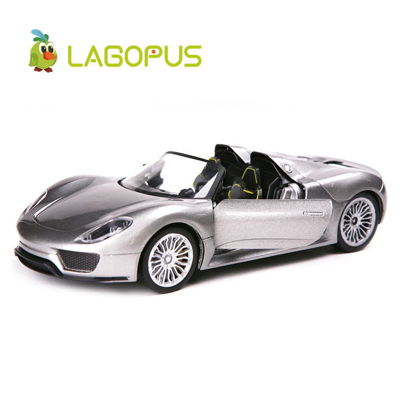 High Simulation Exquisite 1:24 Scale Car Toys 918 Die-casts Metal  Model Toy Collection Gift For Kids New