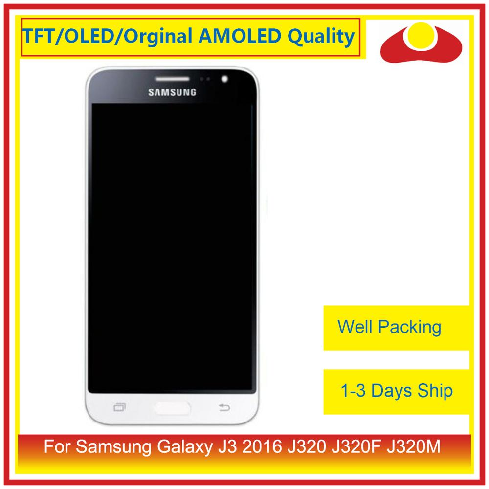 50Pcs/lot DHL For Samsung Galaxy J3 2016 J320F J320M J320 LCD Display With Touch Screen Digitizer Panel J320 Assembly Complete-in Mobile Phone LCD Screens from Cellphones & Telecommunications